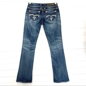 Rock Revival Alanis Crystal Boot Jeans